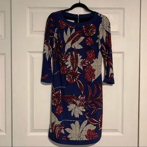 DONNA MORGAN shift dress long sleeve size 2